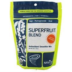 Organic Superfruit Blend, Antioxidant Smoothie Mix, 8 oz, Navitas Naturals