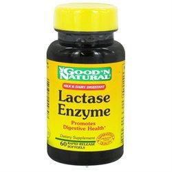 Good 'N Natural - Lactase Enzyme - 60 Softgels