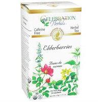 Celebration Herbals Organic Elderberries Herbal Tea Caffeine Free - 24 Tea Bags