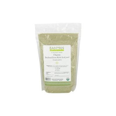 Banyan Botanicals - Organic Brahmi/Gotu Kola Leaf Powder Centella Asiatica - 1 lb.