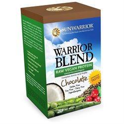 Sunwarrior Warrior Blend Raw Protein - Chocolate