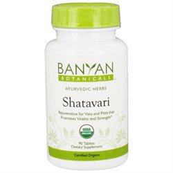 Banyan Botanicals - Organic Shatavari 500 mg. - 90 Tablets