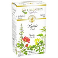 Celebration Herbals - Organic Caffeine Nettle Leaf Herbal Tea - 24 Tea Bags