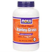 NOW Foods - Barley Grass Powder Organic Non-GE - 6 oz.