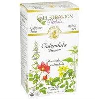 Celebration Herbals Organic Calendula Flower Tea Caffeine Free - 24 Tea Bags