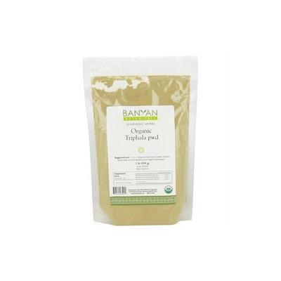 Banyan Botanicals - Organic Triphala Powder - 1 lb.