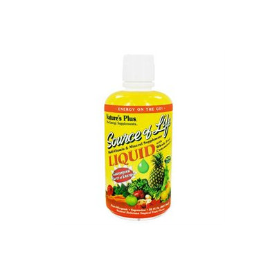 Nature's Plus Source of Life Liquid Tropical Fruit - 30 fl oz