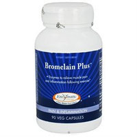 Enzymatic Therapy Bromelain Plus - 90 Capsules - Enzymes