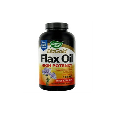 tures Way Nature's Way EfaGold Flax Oil - 200 Softgels