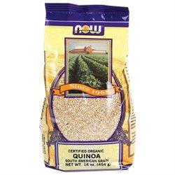 NOW Foods - Quinoa Grain Organic Non-GE - 1 lb.