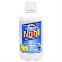 NOW Foods - Noni Certified Organic Superfruit Antioxidant Juice - 32 oz.