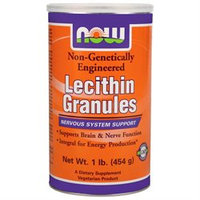 NOW Foods Lecithin Granules Non-GMO, 1 lb