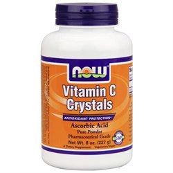 NOW Foods Vitamin C Crystals, 8 oz