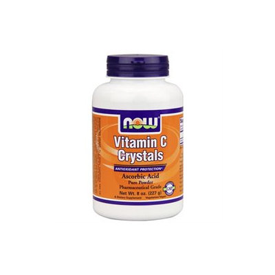NOW Foods Vitamin C Crystals, 8 oz