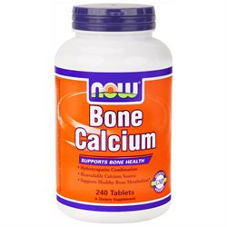 NOW Foods Bone Calcium, Tablets, 240 ea