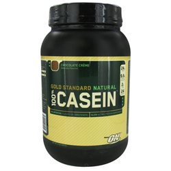 Optimum Nutrition 100% Casein Gold Standard Natural - Chocolate Creme