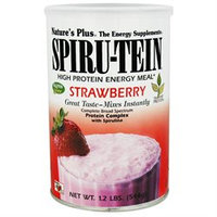 Nature's Plus Spiru-Tein Shake Strawberry - 1.2 lbs