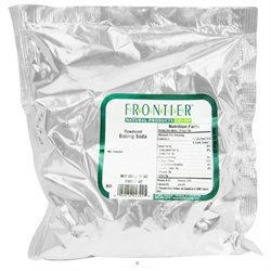 Frontier Natural Products - Baking Soda Powdered - 1 lb.