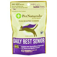 Pet Naturals of Vermont Daily Best Senior for Cats - 45 Chewables