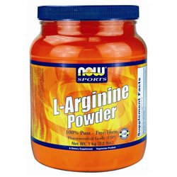 NOW Foods Arginine 100% Pure Powder