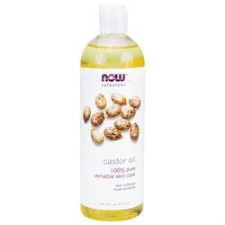 NOW Foods Solutions Castor Oil - 16 fl oz