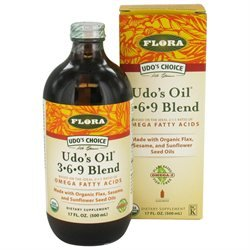 Flora - Udo's Choice Udo's Oil 3 6 9 Blend - 17 oz. Formerly Udo's Choice Oil Blend