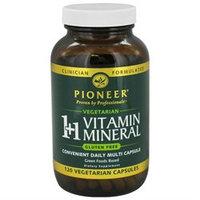 Pioneer Nutritionals Pioneer - 11 Vitamin Mineral - 120 Vegetarian Capsules