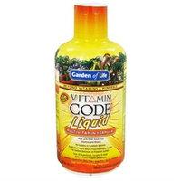 Garden of Life - Vitamin Code Liquid Multivitamin Formula Orange Mango - 30 oz.