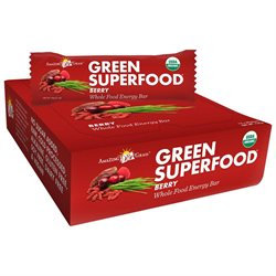 Amazing Grass - Green SuperFood Whole Food Energy Bar Berry - 2.1 oz.