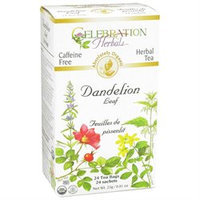 Celebration Herbals Organic Dandelion Leaf Tea Caffeine Free - 24 Herbal Tea Bags