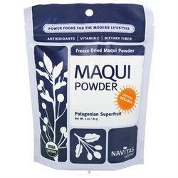 Organic Freeze-Dried Maqui Powder, 3 oz, Navitas Naturals