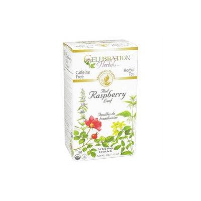 Celebration Herbals Organic Red Raspberry Leaf Tea Caffeine Free - 24 Herbal Tea Bags