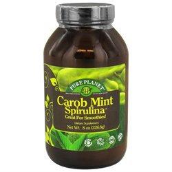 Pure Planet - Carob Mint Spirulina Endurance Support - 8 oz.