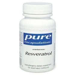 Resveratrol - Pure Encapsulations - 120 Capsules - Resveratrol - Antioxidant