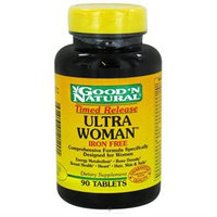 Good 'N Natural - Ultra Woman MultiVitamin Iron-Free Time Release - 90 Tablets