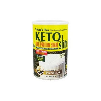 Nature's Plus - KetoSlim High Protein Shake Vanilla - 0.8 lbs.