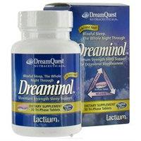 Dream Quest Nutraceuticals - Dreaminol Maximum Strength Sleep Support - 30 Tablets