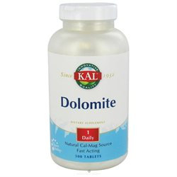 KAL Dolomite - 500 Tablets - Calcium Combinations