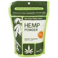 Navitas Naturals Organic Raw Hemp Protein Powder - 12 oz - Vegan