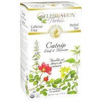 Celebration Herbals Organic Catnip Leaf and Blossom Tea Caffeine Free - 24 Herbal Tea Bags
