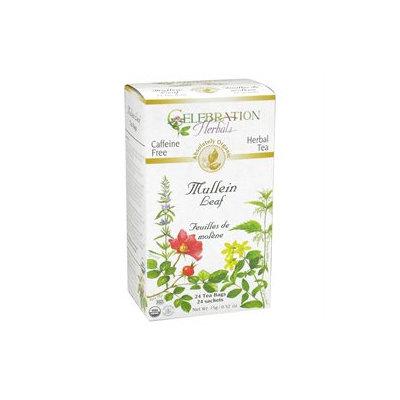 Celebration Herbals Organic Mullein Leaf Tea Caffeine Free - 24 Herbal Tea Bags