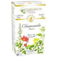 Celebration Herbals - Organic Caffeine Free Chamomile Flowers Herbal Tea - 24 Tea Bags
