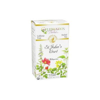 Celebration Herbals Organic St John's Wort Tea Caffeine Free - 24 Herbal Tea Bags