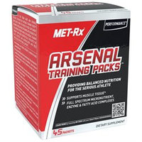 Metrx MET-Rx Arsenal Training Packs - 45 Packets