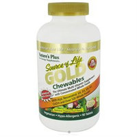Nature's Plus Source of Life Gold Chewables, Tablets, 90 ea