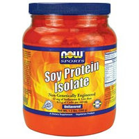 NOW Foods - Soy Protein Isolate Non-Genetically Unflavored - 1.2 lbs.