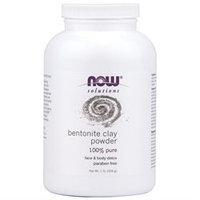 NOW Foods - Bentonite Powder 100 Pure Clay - 1 lb.