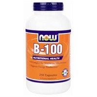 NOW Foods Vitamin B-100 Complex, Capsules, 250 ea