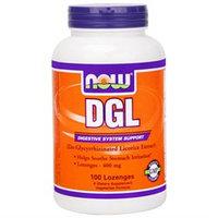 NOW Foods - DGL 400 mg. - 100 Lozenges