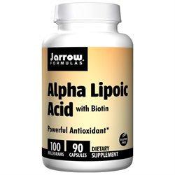 Jarrow Formulas Alpha Lipoic Acid with Biotin